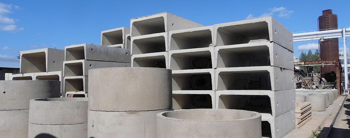 Разновидность бетонных изделий
