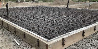 Фундамент плита