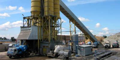 Бетонный завод в Акишево