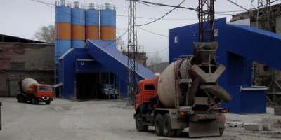 Бетонный завод в Глотаево