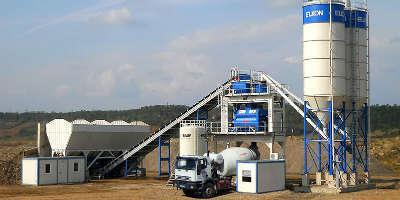 Бетонный завод в Машково