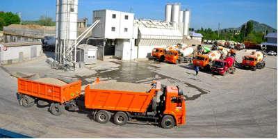 Бетонный завод в Онуфриево