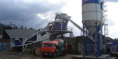 Бетонный завод в Растуново