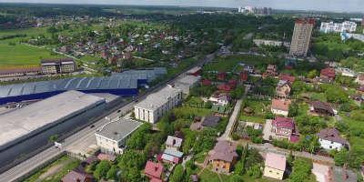 Бетонный завод в Сходне