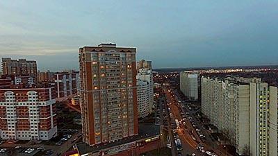 Бетонный завод в районе Лианозово