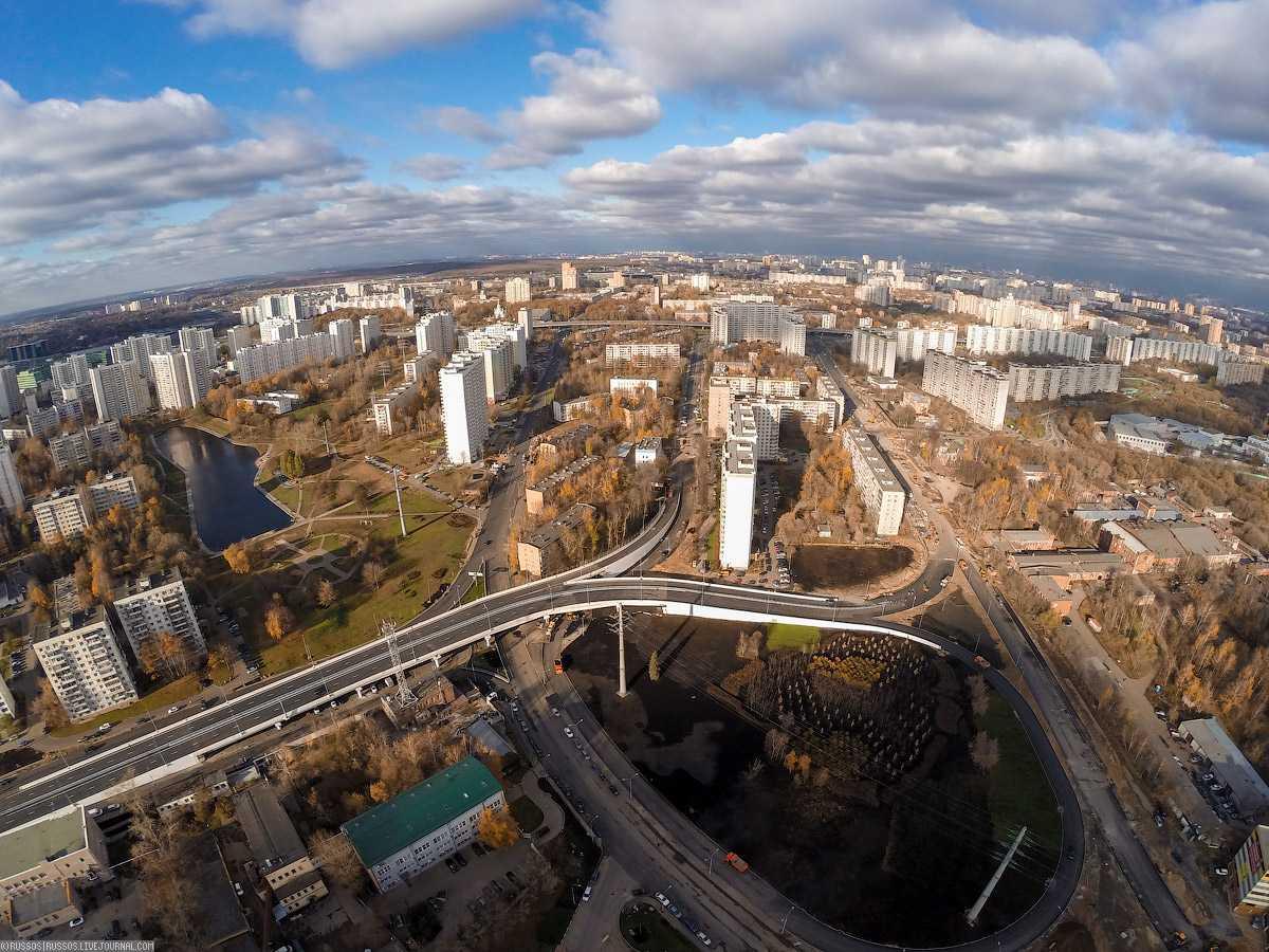 Бетон в Сколковском шоссе